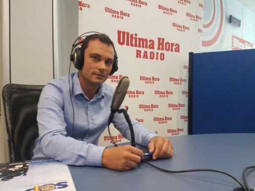 Manuel Pavón, portavoz del SUP en Baleares.