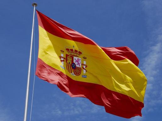 Imagen de una bandera de España.