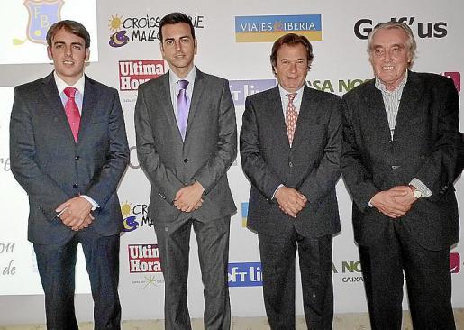 Juan Antonio Ramonell, Javier Morente, Vicente Mulet y Jordi Pando.