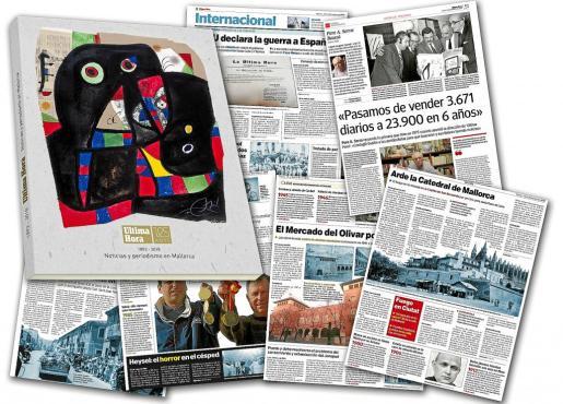 Muestra de las páginas que componen el volumen especial del 125 aniversario de Ultima Hora.