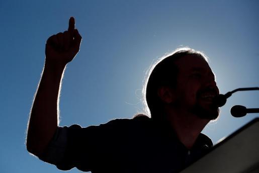 GRAF6476. BARCELONA, 11/11/2018.- El secretario general de Podemos, Pablo Iglesias, durante el acto que han celebrado en Barcelona.