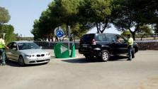 Un coche lanzado desde un camión permite robar 70.000 euros en móviles en Madrid