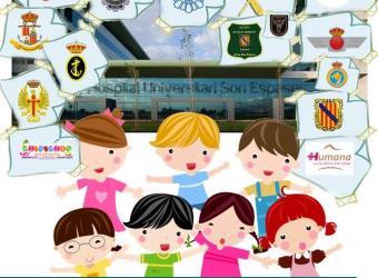 Son Espases celebra el encuentro Sonrisas repartiendo alegría y diversión entre los niños enfermos del hospital