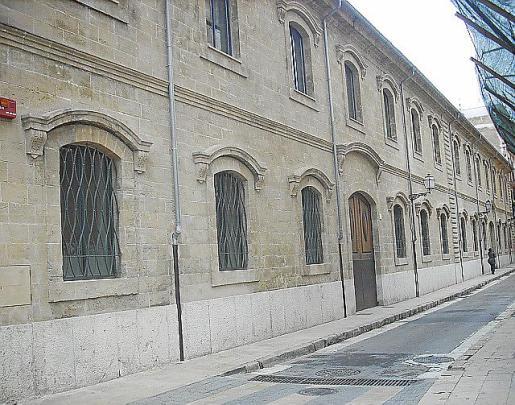 Fachada del Quarter d'Intendència de Palma.