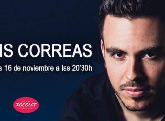 Luis Correas repasa las canciones de 'Acuario' en el Espai Xocolat