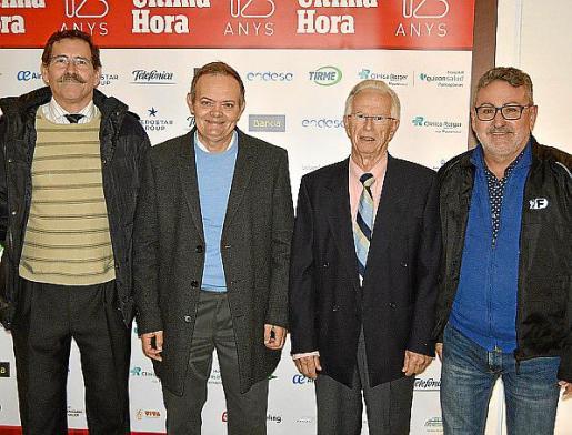 Luis Gil de Sola, Vicente Moltó, Pere Sunyer y Pere Castelló.