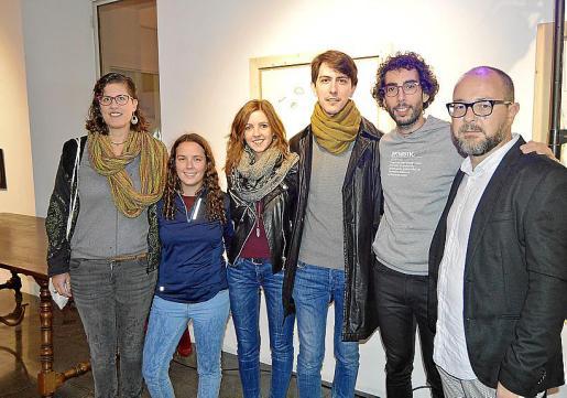 Cati Munar, Carme Coll, Ana Gorrochategui, Bernat Pons, Toni Simó y David Campaner.