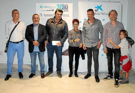 Manolo Ginebroza, Josep Palacios, Stuart Basset, Maite Bayón, Ángel Cortés, José Maria Fayos y Javier Fayos.