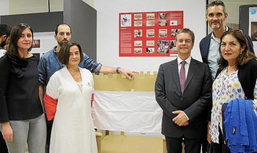 Margalida Canet, Joan Rusca, María Abando, Juanjo Montaño, Miguel Ángel Tirado y Catalina Mas.