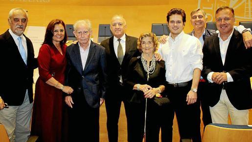 Francisco Martínez Espinosa, Victoria Autonell, Jaume Autonell, Bartomeu Mesquida, Aina Ferrando, Joan Mesquida Autonell, Juan Carlos Bibiloni y Joan Mesquida Ferrando.
