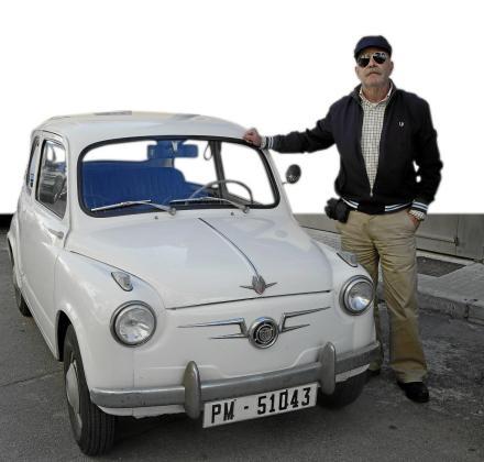 Toni Ramonell compró en 2009 este Seat 600 de primera generación matriculado en marzo de 1962