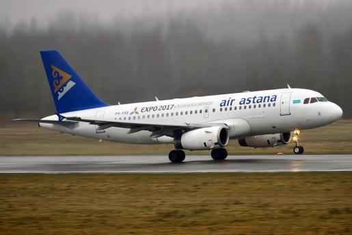 Avión de Air Astana
