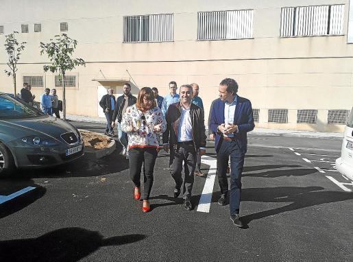 Bel Busquets, Virgilio Moreno y Marc Pons inauguraron la nueva estación de Inca.