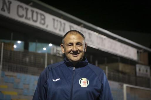 El técnico Nico López, en una reciente imagen.