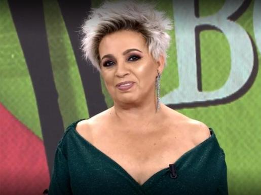 La nueva imagen de Carmen Borrego.