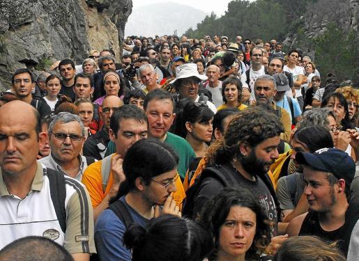 La familia March recuerda además que Alorda fue uno de los participantes de la histórica marcha reivindicativa de Pro Camins Públics en 2009.