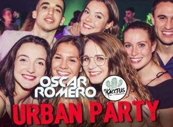 Oscar Romero y DJ Kacctus ponen música la Urban Party, la fiesta de los jueves en Es Gremi