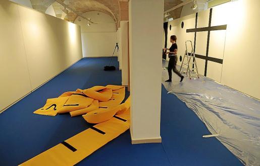 La exposición constará de una cinta métrica gigante (20 metros) y de una serie de paneles que buscan estimular la imaginación de los niños y de esta forma ayudar a su aprendizaje.