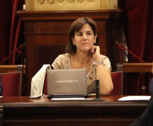 María José Bauzá, en una imagen de archivo.