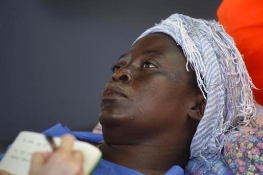 Imagen de Josepha, durante su ingreso en el hospital de Son Espases.