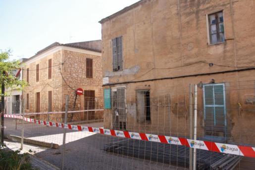 Imagen de viviendas que se vieron seriamente afectadas por las inundaciones de Sant Llorenç.