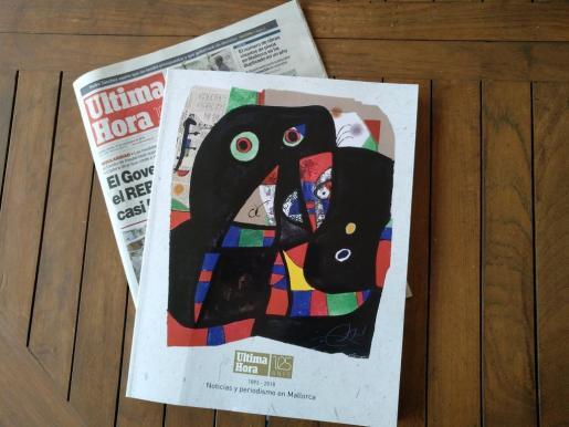 Imagen de la edición especial del 125 aniversario de Ultima Hora.