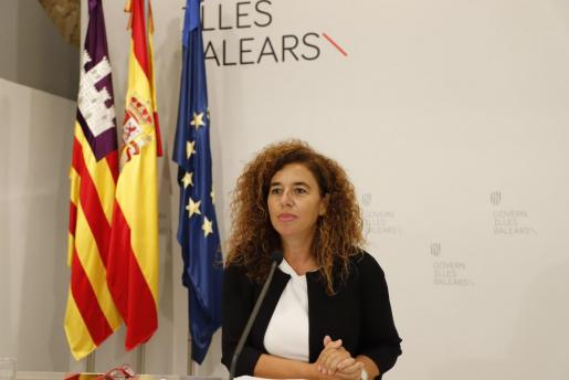 Pilar Costa, portavoz del Govern.