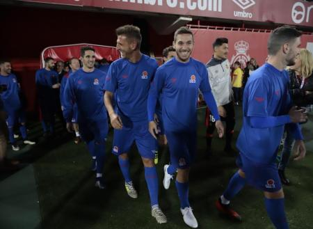 Aficionados del Atlético Baleares promueven homenajear a Vallori ante el Teruel