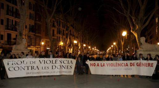 Imagen de archivo de una concentración del Lobby de Dones.