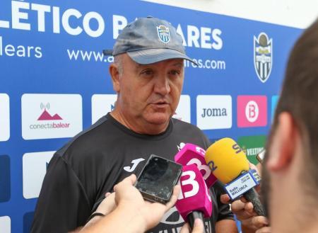 Mandiola apunta a la salvación como primer objetivo del Atlético Baleares