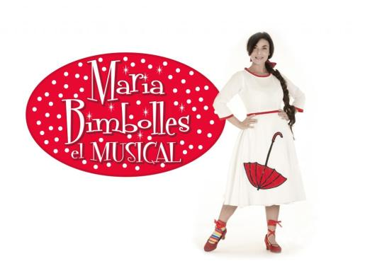 Victòria Sitges, creadora del personaje de Maria Bimbolles y del musical que cuenta su historia.