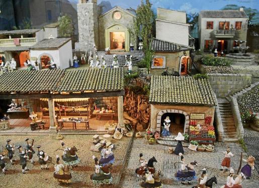 El Belén del centro cultural La Misericòrdia, en Palma.