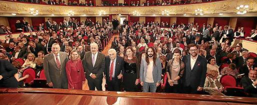 Gala en el Teatre Principal con motivo del 125 aniversario de 'Ultima Hora', en enero de 2018.
