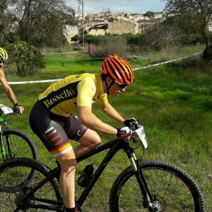 El ciclista Sebastià Vila, en una anterior competición.