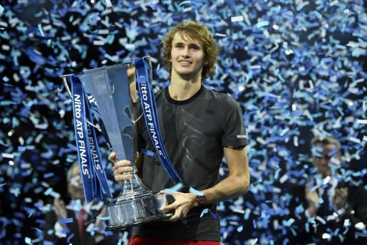 El número cinco del mundo se coronó Maestro en su segunda participación en el torneo.