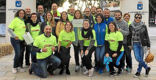 El concesionario Peugeot de Palma apoyó esta iniciativa solidaria.