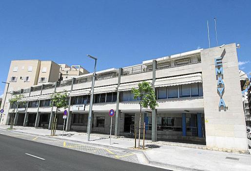 En la imagen, la sede de Emaya, en la calle Joan Maragall.