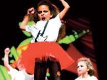 Todos los bailarines de la Acadèmia Urban Dance Can Picafort participan en el espectáculo.