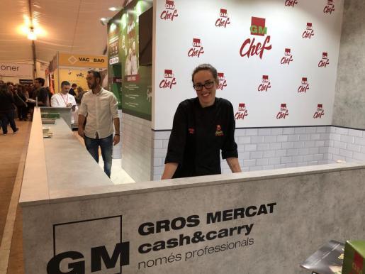 Magdalena Mas, tras obtener el tercer puesto en el GMChef.