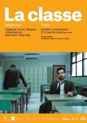 Pedro Mas y Rodo Gener protagonizan 'La classe'.
