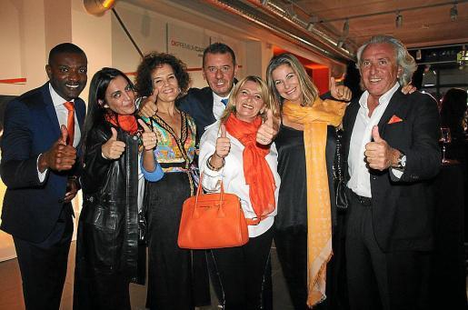 Iván Cuaresma, Sandra Grau, Olga Vélez, Bertrand Descoubes, Yolanda López, Isabel Hernández y Salvador de Pablo.