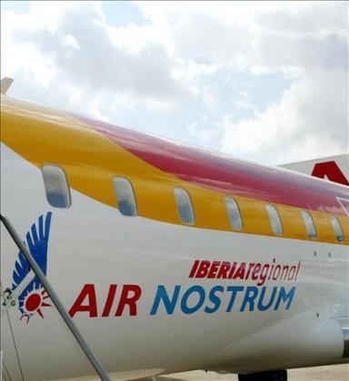 Los pilotos de Air Nostrum respetarán los servicios mínimos establecidos por el Ministerio de Fomento
