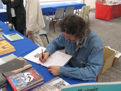 Tomeu Seguí es uno de los dibujantes mallorquines que participará en la Feria Internacional del Libro de Guadalajara (FIL) de México.
