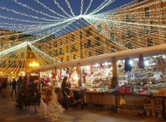 El centro de Palma se llena de magia con la Feria de Navidad y Reyes