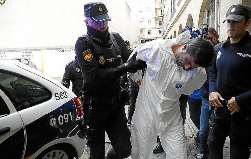 Rafael Pantoja está ingresado en la cárcel de Palma desde este lunes.