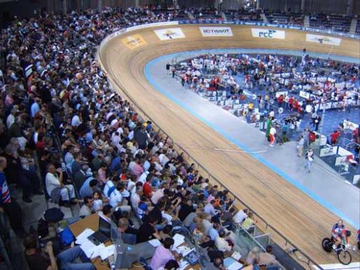 Imagen de la pista del Palma Arena.