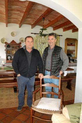Xavi y Carlos Feliu están al frente del negocio, que ha ido creciendo año tras año desde 2003.