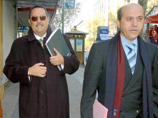 Julián Muñoz y José María del Nido, en una imagen de archivo cuando comparecían juntos a prestar declaración.