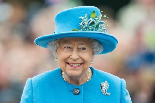 Imagen de archivo de la Reina Isabel II.