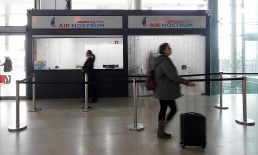 La huelga de pilotos de Air Nostrum.